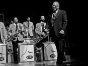 English: Count Basie and band, Hamburg 1974