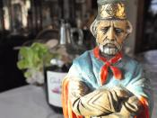Giuseppe Garibaldi - Portrait of an Italian Patriot with Red Wine & Cabbage