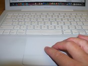 English: picture of keyboard with mouse
