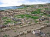 Punic area, Nora (Italy)