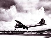 MARIANAS ISLAND -- Boeing B-29 Superfortress
