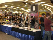 The Image Comics booth at WonderCon 2009.