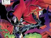 Spawn #1 (May 1992). Cover art by Todd McFarlane.