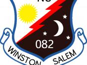English: NC-082 Squadron seal/patch