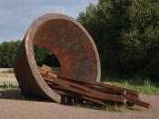 Deutsch: Laderampe Bergen-Belsen. Objekt Rampe Bergen-Belsen, von a. und h.j. breuste, 2007