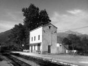 Ponte Leccia Station, Corsica