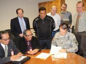Navajo Nation Memorandum of Agreement