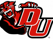 DU Panthers logo