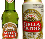 English: Stella Artois can and bottle