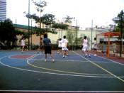 Street football in Singapore