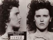 mugshot taken of Elizabeth Short