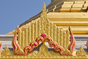 English: Motif on Global Vipassana Pagoda in Mumbai, India.