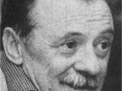Español: Fotografía del escritor y poeta uruguayo Mario Benedetti.