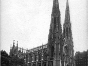 English: St. Patrick's Cathedral New York 1913