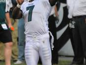 English: Mike Vick with Philadelphia