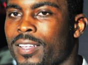 Michael Vick in a locker room interview following the New York Jets vs. Philadelphia Eagles preseason game on September 3, 2009.
