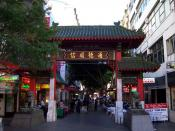 Chinatown, Sydney. Multicultural immigration to Australia has contributed to the development of a diverse cuisine.