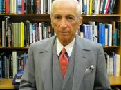 Writer Gay Talese at the Strand Bookstore, New York City.