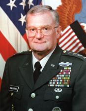 General John Shalikashvili.