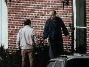 English: This is an FBI surveillance photograph of the former Winter Hill Gang hierachy in the 1980s. Mob boss, James J. Bulger (right) and lieutenant Stephen Flemmi (left). This is a federal photo that is under public domain. Obtained from http://imgsrv.