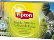 Lipton Rainforest Alliance certified product