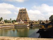Chidambaram Temple in Tamil Nadu is dedicated to Nataraj, dancing form of Siva which was built well before 6th century.