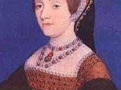 Catherine Howard, Jane Boleyn's cousin-in-law and Queen of England, Henry VIII's fifth wife.