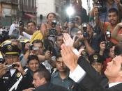 Luis Miguel in Mexico city