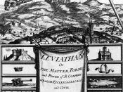 The frontispiece of the book Leviathan by Thomas Hobbes Deutsch: Titelblatt von Thomas Hobbes' Leviathan