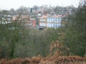 English: Brendon Lawrence Sports Centre Seen from across Alexandra Park. Brendon Lawrence was an innocent sixteen year old who was shot and murdered in St. Ann's in 2002. A moving poem to the memory of Brendon Lawrence can be found here: http://www.benjam
