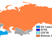 European Union Customs Union and Customs Union of Belarus, Kazakhstan and Russia