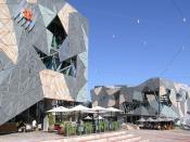Melbourne Federation Square (SBS Building)