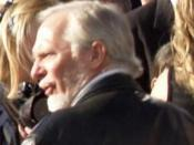 English: Douglas Gresham (C.S. Lewis' stepson) at the UK premiere of The Chronicles of Narnia: Prince Caspian.