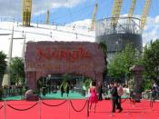English: Entrance to The Chronicles of Narnia: Prince Caspian premiere at the O2.