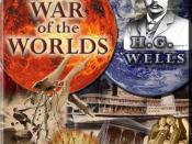 English: H.G. Wells Book War Of The Worlds