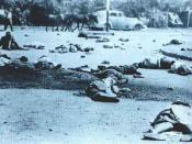 Aftermath of the Sharpeville massacre