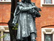Nicolaus Copernicus Monument in Kraków, by Professor Cyprian Godebski. Esperanto: Monumento pri Koperniko ĉe la Malnova Universitato de Krakovo. Polski: Pomnik Mikołaja Kopernika w Krakowie.