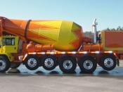 English: Scott Seitz. Ready Mix Concrete Truck. Built by Advance corporation. 2004.