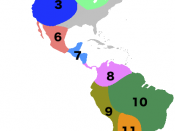 7. Mayan 8. Central American 9. Andean 10. Amazonian 11. Gran Chaco 12. Patagonian