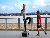 Personal Training Overlooking Melbourne Category:Fitness_training Category:Personal_training