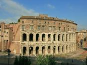 English: Theater of Marcellus, Rome.