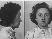 Police photograph of Ethel Rosenberg.