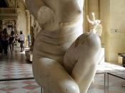 Crouching Aphrodite, 1st–2nd century AD, from Sainte-Colombe, Isère (France), Louvre Museum