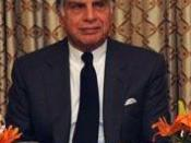 English: = Ratan Tata, Charmain of the Tata Group