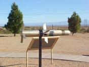 An anti-tank missile.