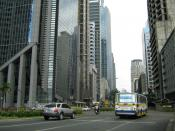 English: Ayala Avenue in Makati City, Metro Manila, Philippines