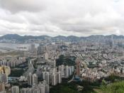 English: Full view of Kowloon and Hong Kong