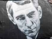 Claude Shannon, painted portrait - la théorie de l'information _1010158
