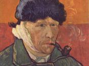 Self-portrait with Bandaged Ear, January 1889 Oil on canvas, 51 × 45 cm Private Collection (F529)