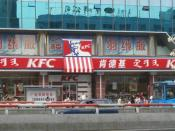 English: A KFC in Mongol, Chinese and English in Hohhot, Inner Mongolia